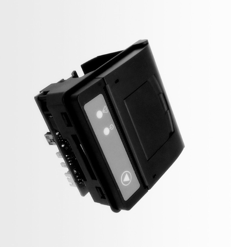 2inch interface embedded/panel thermal receipt printer RS232