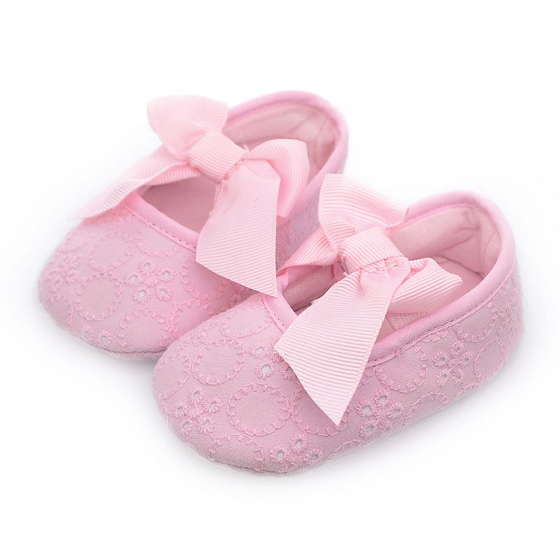 Spring Girl Baby Shoes Soft Sole Cotton First Walkers Fashion Baby Girl Shoes Butterfly-knot First Sole Kids Shoes