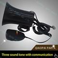 Motorcycle car alarm siren siren 3  3 tone horn horn 12V band high power loudspeaker alarm horn Firemen Ambulance Free shipp ing