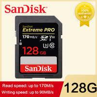 SanDisk Extreme PRO scheda SD 128GB 64GB 32GB 16GB 256GB 512GB Scheda di Memoria SDHC UHS-I Ad Alta Velocità Classe 10 95 MB/s V30 per la macchina fotografica