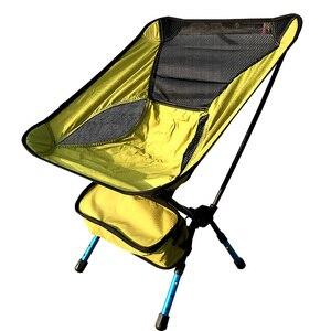 Image 3 - 600D Oxford Panno di Campeggio Per Il Tempo Libero Sedia Pieghevole Portatile con Borsa per il trasporto di Carico 150kg