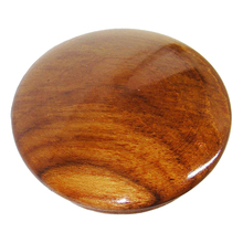 Gloss Teak Wood Boat Steering Wheel Center Cap 2-1/2-Inch Inside Diameter New Marine