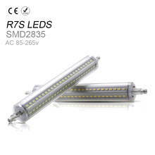 118mm smd2835 r7s horizontal plug lamp led verlichting repace halogen lamp 135mm ac85 265v 189mm leds lamps replace halogen 78mm