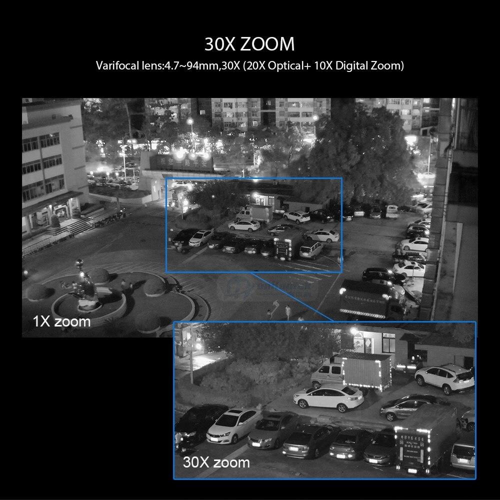 10 1080p PTZ IP Camera