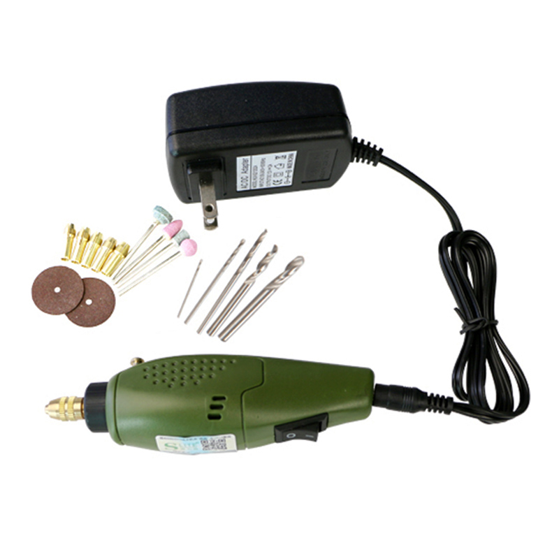 Mini Electric DIY Drill Set Grinder Tools for Milling Cutting Polishing Drilling Engraving Accessory 12000 RPM 12V DC ALI88 1pc white or green polishing paste wax polishing compounds for high lustre finishing on steels hard metals durale quality