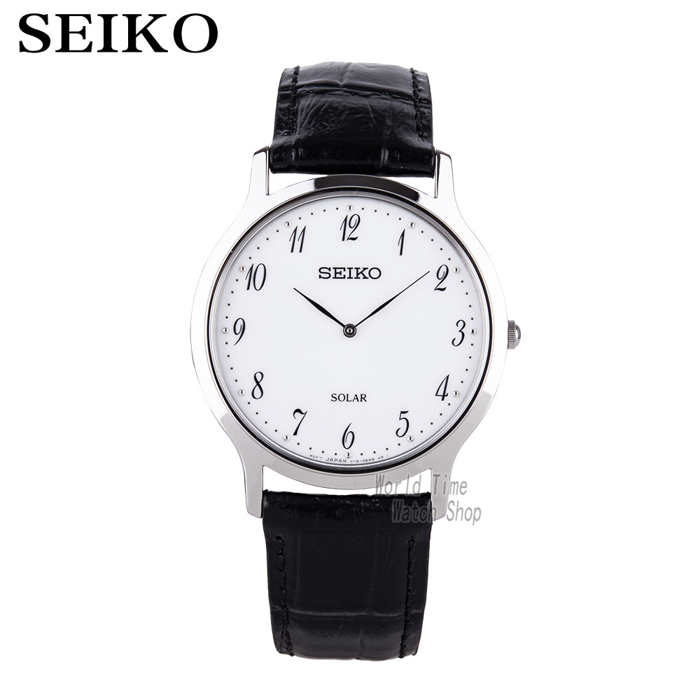 Trustful Seiko Solar Leather Solar Leather Digital Scale Simple Business Casual Mens Watch Sup863p1 Sup872p1 Do You Want To Buy Some Chinese Native Produce? Watches