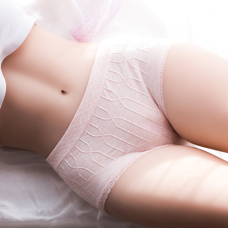Womens Cotton Panties Female Lace Edge Breathable Briefs Sexy Pink Underwear Women Cotton Crotch Lingerie Intimates