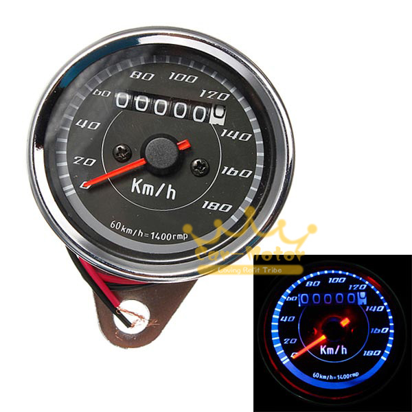 compare prices on speedometer suzuki online shopping buy low universal motorcycle dual odometer speedometer blue led backlight for harley yamaha suzuki honda kawasaki
