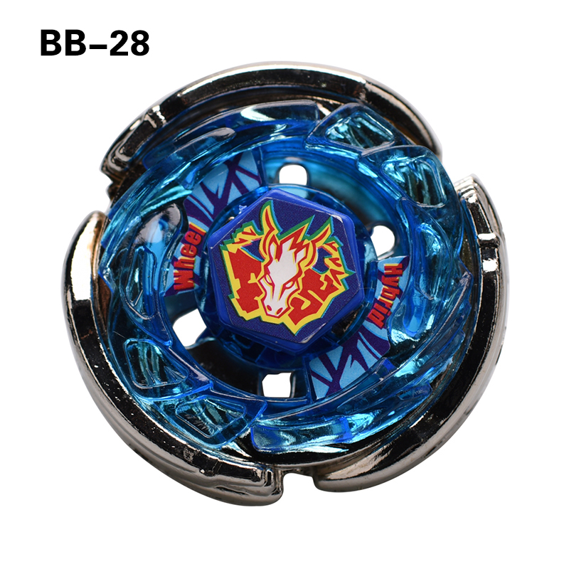 1PCS Pegasus BEY METAL FUSION 4D Beyblade BB28 Spinning Top Without Launcher #D