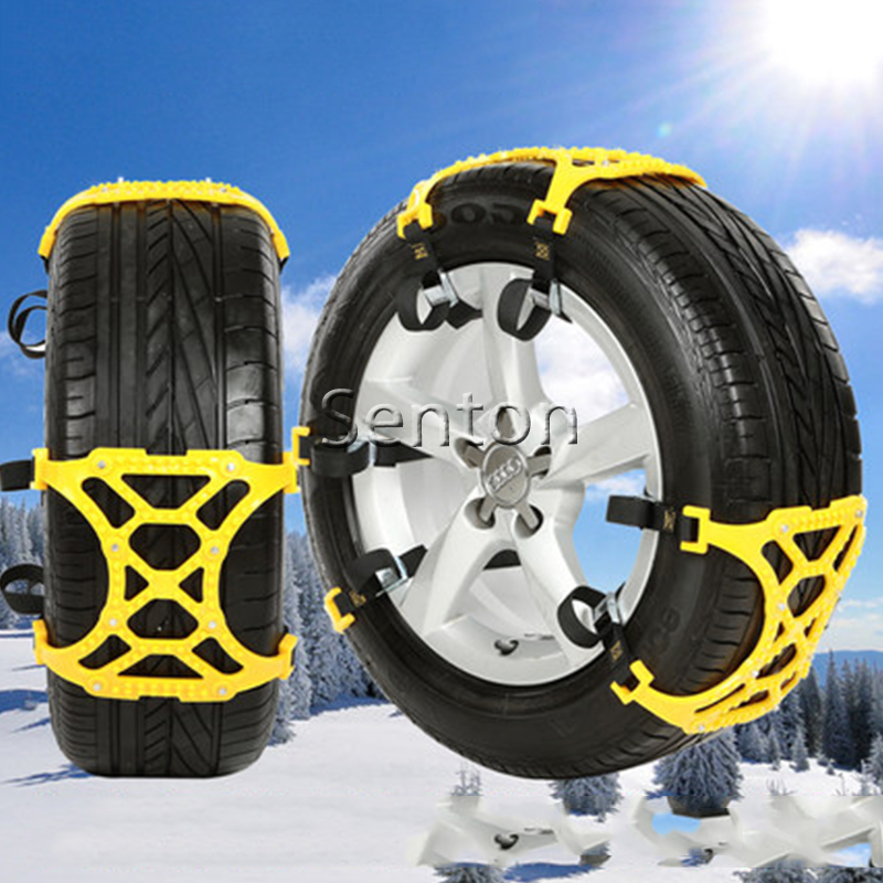 где купить 6X Car Snow Tire Anti-skid Chains For BMW E46 E39 E90 E60 E36 F30 F10 E34 X5 E53 E30 F20 E92 E87 M3 M4 M5 X5 X6 Accessories по лучшей цене