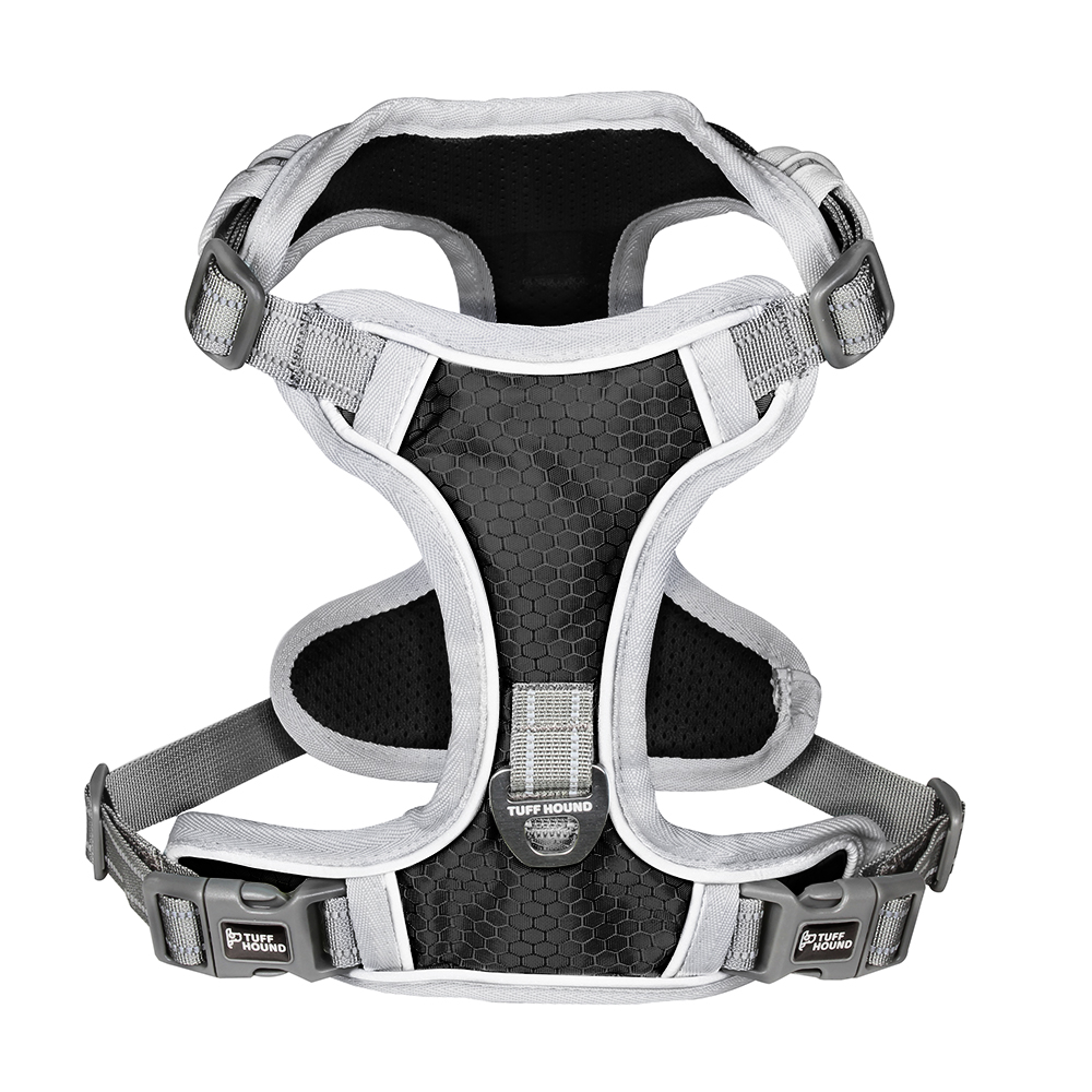 Image 3 - TUFF HOUND Pet Products Nylon Dog Harness Vest K9 Breathable And Comfortable Dog Harness Belt Large  Small Bulldog Quick ReleaseHarnesses   -
