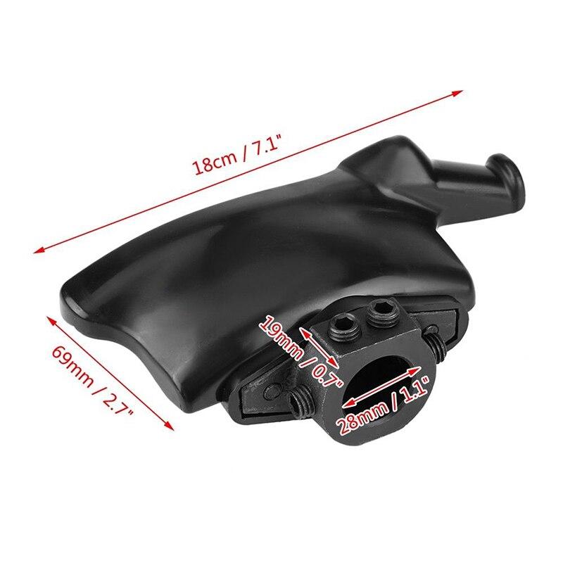 Accessoires changeur de pneu tête voiture outil de réparation noir remplacement plastique Nylon montage démonte canard Durable pratique