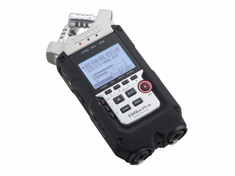 RüCksichtsvoll Heiße Neue Zoom H4n Pro Professionelle Handheld Digital Recorder Vier-track-tragbare Recorder H4npro Aufnahme Stift Hohe Sicherheit Digital Voice Recorder Tragbares Audio & Video