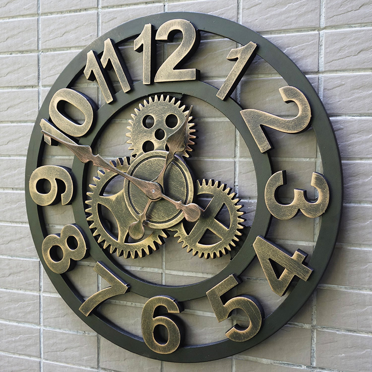 Popular Wooden Gear Clock Buy Cheap Wooden Gear Clock Lots