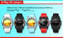 Full Circle HD Sport Kamera Uhr V8 Smart Uhr Für Android Smartphone Unterstützung TF SIM Karte Bluetooth Smartwatch PK GT08 U8 DZ09