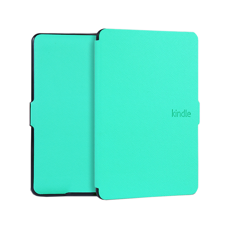 Ultra Slim Magnet Flip Sleep / Wake Up PU Leather for Amazon New Kindle 2016 Version 6 inches Protective Cover ultra slim ebook case for amazon kindle voyage 2014 magnet flip cover pu leather cross lines ereader cases wake sleep