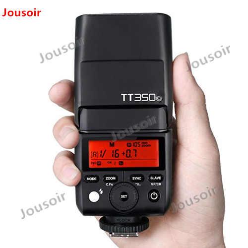 Godox Мини Вспышка TT350O камера Вспышка ttl HSS GN36 для O/Panasonic беззеркальная DSLR камера CD50
