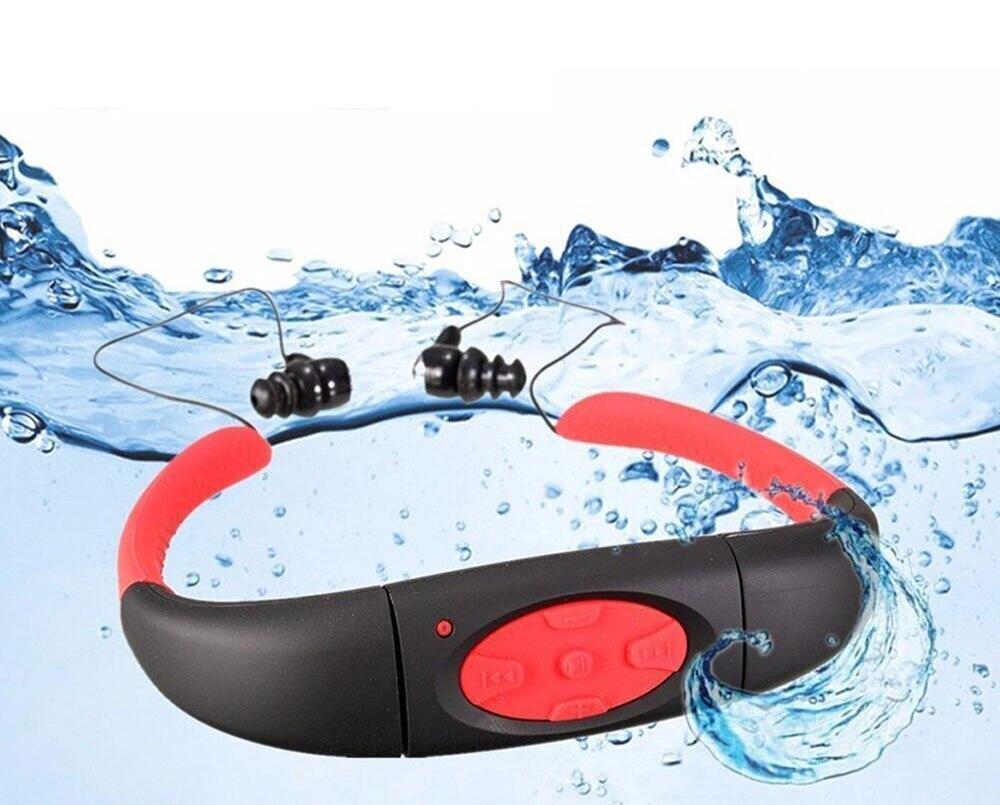 Unterhaltungselektronik Sommer Schwimmen Bluetooth Mp3 Player Mit Radio Fm Unterwasser Ip68 Neckband 100% Wasserdichte Drahtlose Mp3 Für Tauchen Sport Dusche