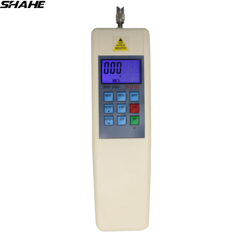 SHAHE 500N /50kg /110Lb Portable Dynamometer Digital Push Pull Force Gauge With RS232 Force Measuring Instrument fastnet force 10 rei paper only