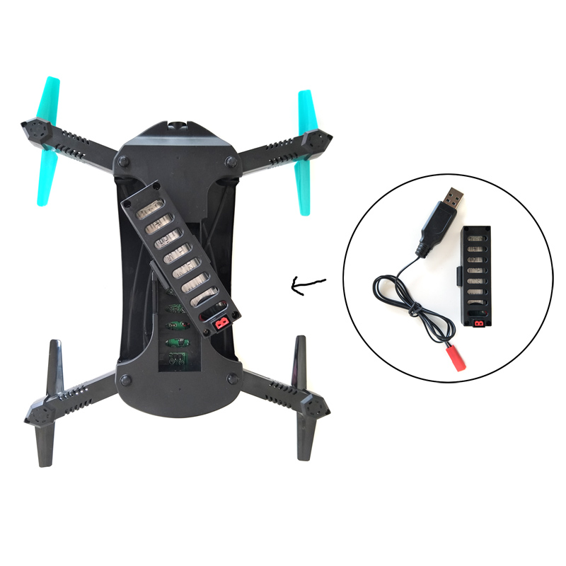 Quadcopter JY018 WIFI Foldable Mini Drone with Camera RC Helicopter Drones (11)