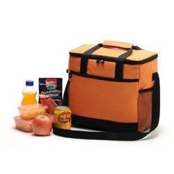 Mounchain 16L torba na piknik na zewnątrz duża pojemność termiczna torba na piknik przenośne żywności piknik torebka lodówka turystyczna izolowane torby na lunch w Torby piknikowe od Sport i rozrywka na