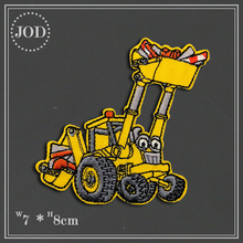 Boy DIY Size:7x8cm Car Iron on Patches for Clothing Stickers Sew on Applique Patch Embroidery Badges Fabric Clothes JOD flower lace embroidery iron on stickers applique clothes patch embroidered patches for clothing rose badges fabric