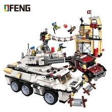купить WW2 Military Series Heavy Tank model building blocks Army Vehicle figure bricks Compatible With  toys for children gift онлайн
