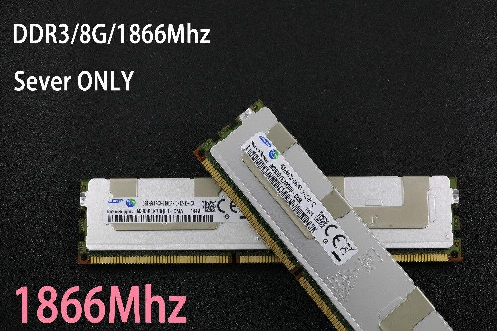 Original Samsung 8 GB de memória DDR3 1333 MHz 8G 1333 ECC REG servidor RAM 100% trabalho 16 gb 24 gb 16g 24g 32 gb 32g Garantia Vitalícia