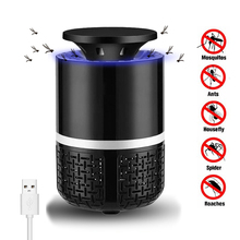 New Electric Mosquito Killer Lamp LED Bug Zapper Anti Mosquito Killer Lamp Insect Trap Lamp Fly Killer Home Office Pest Control цена в Москве и Питере
