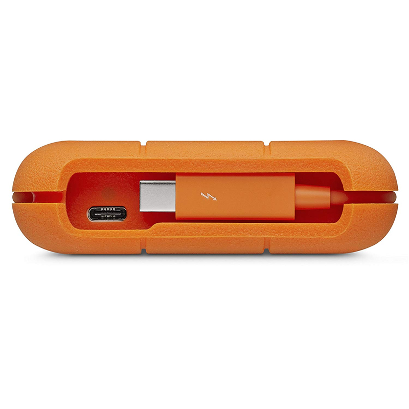 """Image 5 - Seagate LaCie Rugged  2TB 4TB 5TB Thunderbolt & USB 3.1 Type C Portable Hard Drive 2.5"""" External HDD for PC Laptop-in External Hard Drives from Computer & Office"""
