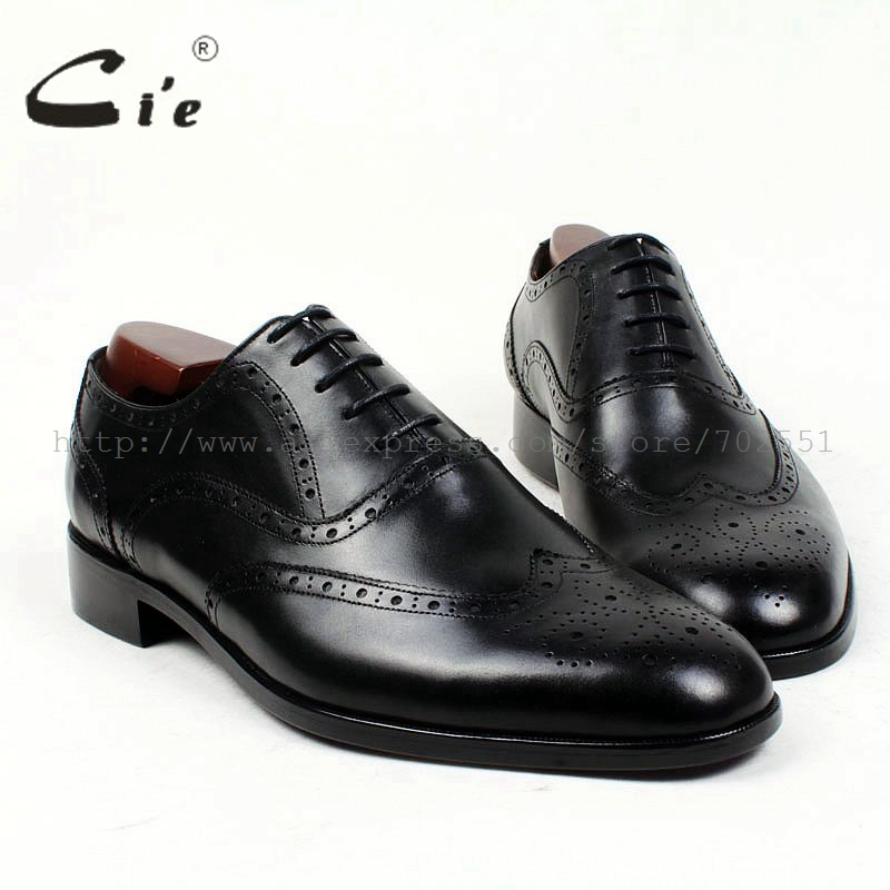 cie round toe brogues bespoke men shoe custom handmade pure genuine calf leather outsole men's dress oxford black flat shoeOX409 cie square plain toe black wine handmade pure genuine calf leather outsole breathable men s dress oxford bespoke men shoe ox407
