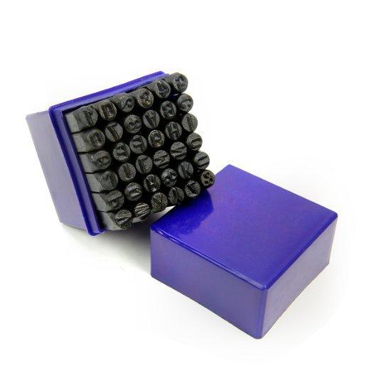 36 pièces/ensemble en cuir timbre poinçon Alphabet lettre numéro timbre outil en acier métal cuir artisanat pour la maison à la main outils de bricolage