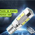2016 Car LED T10 SMD Clearance  modulation 12v 5W Reading Light Meter Lamp Work Lamp with lens 18LM*38 White light