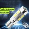 2016 Carro LEVOU T10 SMD Medidor de modulação de Apuramento 12 v 5 W Luz de Leitura Lâmpada de Trabalho Da Lâmpada com lente 18LM * 38 luz Branca