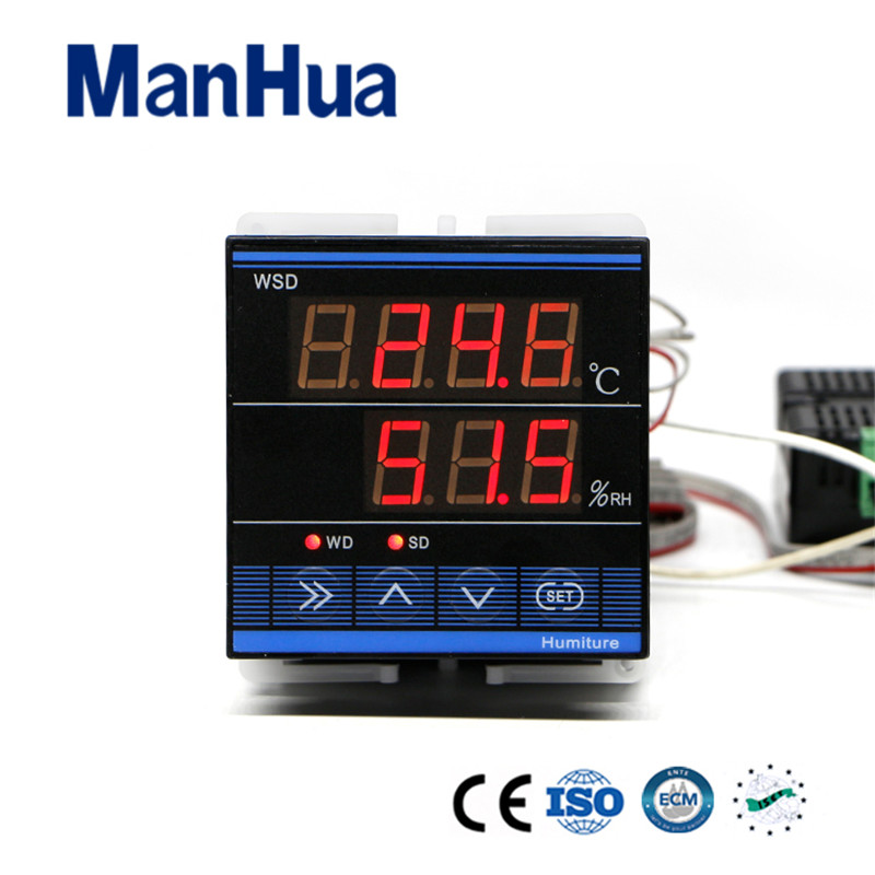 все цены на Manhua High Quality Digital RS485 Modbus Egg Incubator Temperature and Humidity Controller for Incubator sensor  TDK0302LA онлайн