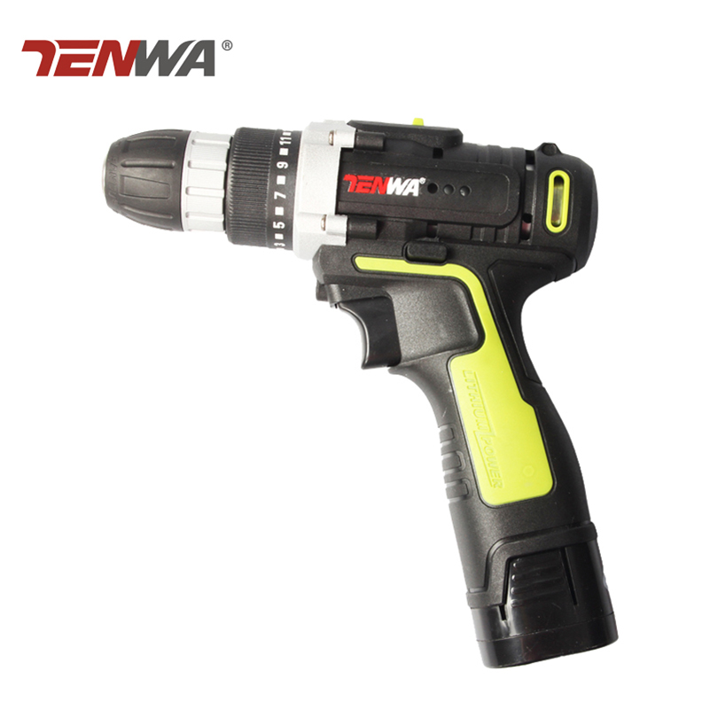 Tenwa 16.8v Electric Drill Lithium-Ion Battery 2 speed New Design Cordless Drill with led working light  Mini Screwdriver  DIY 24v 300w 2 10 35km luggage folding carbon fiber electric scooter adult kid school working vehicles travel 2 wheel lithium ion
