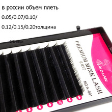 Russia Individual Eyelashes Volume 2D 3D 4D 5D Newest Premium Mink Eyelashes Soft Natural Black Volume Eyelash Extension Lash