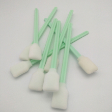 vilaxh 100pcs cleaning swabs sponge stick for Roland/Epson/Mimaki/Mutoh Eco solvent printer Cleaning Swab