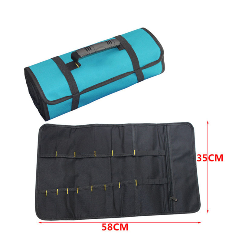 58x35cm Reels Storage Tools Bag Multifunction Utility Bag Electrical Package Oxford Canvas Waterproof With Carrying Handles