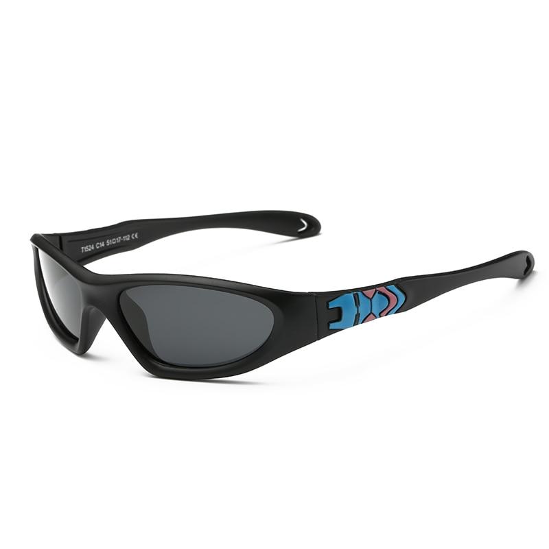 2016 Fashion Sport Kids Sunglasses Polarized Soft Rubber Polaroid Children Sun Glasses UV400 Goggles Oculos Infantil