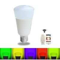 Jiawen Smart bulb, Zigbee bulb,wireless bulb, app control, remote control, work with zigbee hub of sumsung
