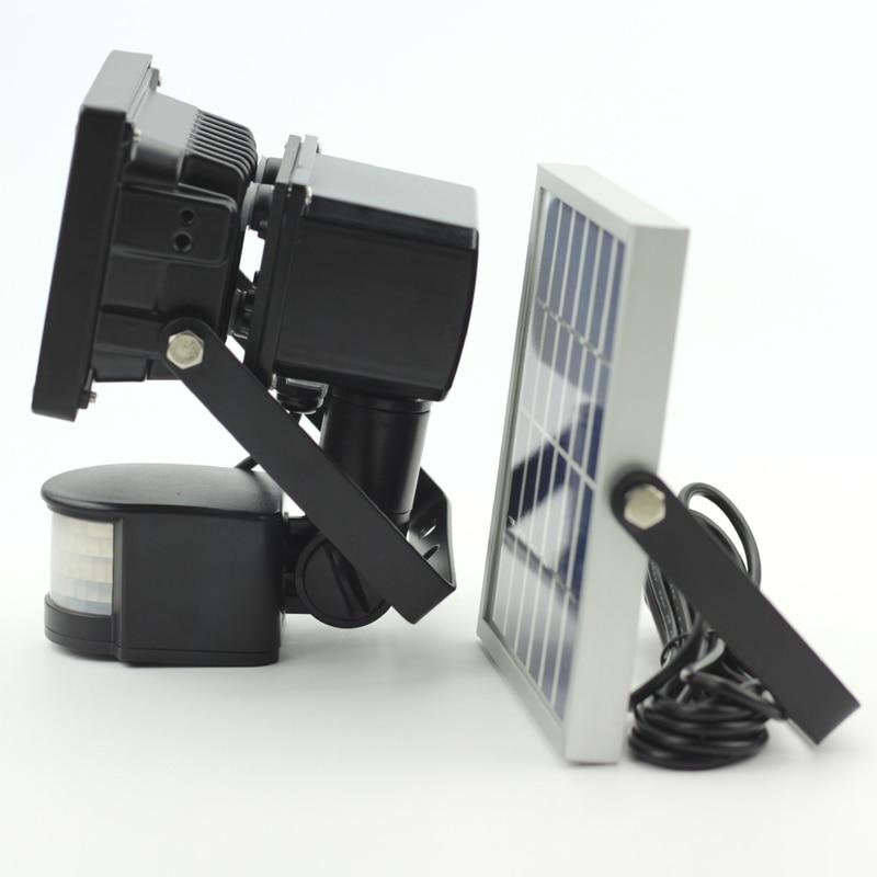 LED-uri de 10W COB LED-uri solare LED-uri Lumina de gradina Lumina de - Iluminat exterior - Fotografie 4