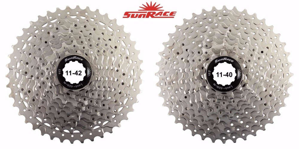 SunRace CSMS3 CSMX3 11-40T 11-42T 10 Speed Wide Ratio bike bicycle mtb freewheel 40t 42t Cassette free shipping sunrace black csmx3 11 40t 11 42t 10 speed mtb bike cassette freewheel wide ratio bicycle mtb freewheel cassette 11 40t 11 42t