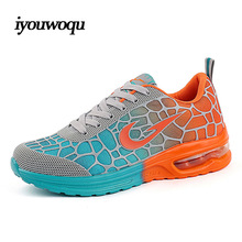 Outdoor Sports Women&Men Running shoes 2016 autumn New Arrivals Track Chaussure and Athletic Shoes for Plus size women sneakers