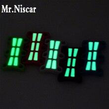 5 Pair Luminous Magnetic Shoe Buckles Glowing Light Decorative Shoe Buckles Child Adult No Tie Shoelace Closure Buckle Sneakers