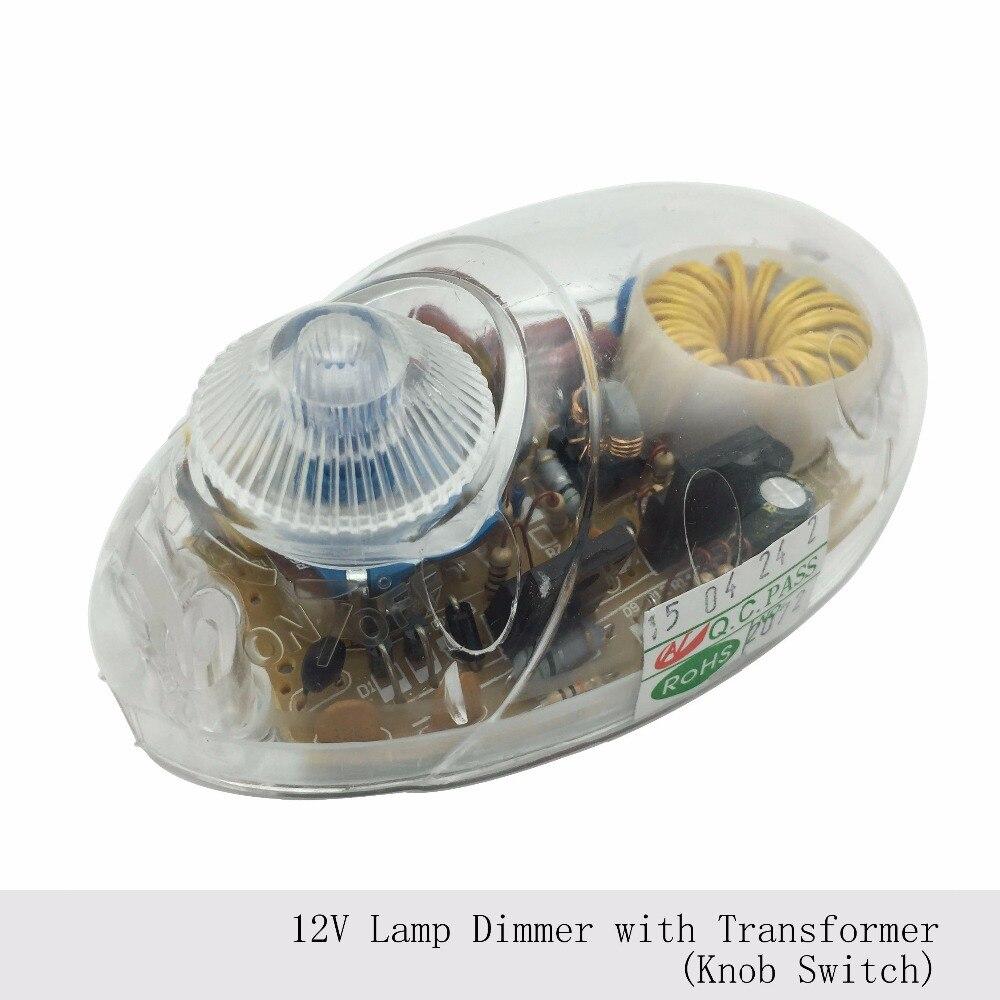 இ1pc 12v Lamp Dimmer Switch Floor Light Table Lamp Transformer