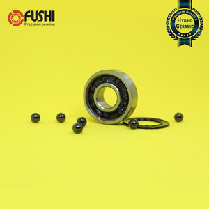 6000RS Hybrid Ceramic Bearing 10*26*8 mm ABEC-5 1PC Bicycle Bottom Brackets & Spares 6000 RS 2RS Si3N4 Ball Bearings 6000-2RS