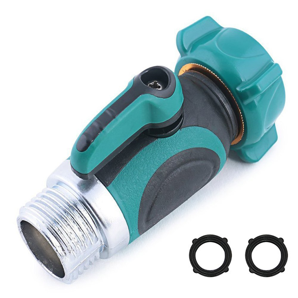 1Way Garden Hose To Shut Off Valve Connect Outside Spigot Friendly Faucet  Extension Ergonomic Aesthetic And Highly Durable In Garden Water Connectors  From ...