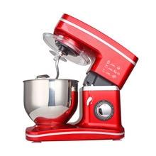 1200W 5,5 L Edelstahl Schüssel 8 speed Küche Food Stand Mixer Creme Ei Schneebesen Mixer Kuchen Teig brot Mischer Maker Maschine