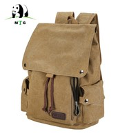 Men S And Women S Backpack Vintage Canvas Backpack Schoolbag Male Travel Bags Large Capacity School